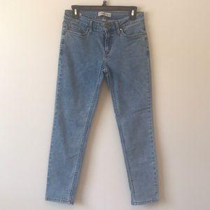 Calvin Klein Light Wash Skinny Jeans